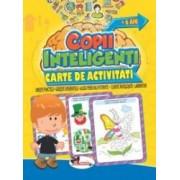 Jocuri pentru copii inteligenti +6 ani. Carte de activitati