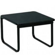 tavolino per sala d'attesa - top in laminato plastico - 64x95xh.41cm -