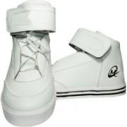 Johnnie Boy Vintage hightop sneaker Sneakers For Men(White)