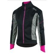 femei bicicliștii jacheta Rogelli Carlyna 2.0, 010.306. negru-gri-roz