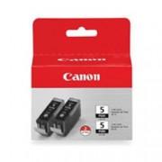 ORIGINAL Canon Multipack nero PGI-5x 0628B030 2x PGI-5bk