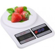 NIBBIN Weight Scale Lcd Kitchen Weight Scale Weighing Scale(White)