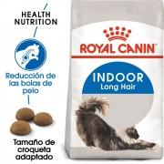 2 kg Indoor Long Hair Royal Canin pienso para gatos