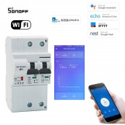 WiFi inteligentný Istič 2P 63A Elektromer R2