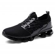 Zapatos Deportivos Amortiguación Para Unisex TK06 - Negro
