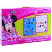 Set tabla si numere magnetice Disney Minnie 35 piese