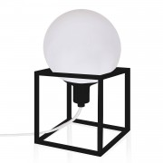 Globen Lighting Cube Bordslampa, Svart