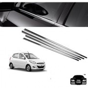 Trigcars Hyundai I10 new Car Window Lower Garnish chrome