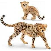 Schleich Wild Life Animals Cheetah 14746 and Cub 14747 Figures Set