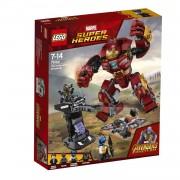 LEGO Marvel Super Heroes Het Hulkbuster duel 76104