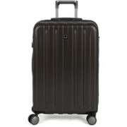 Delsey Paris Solid Hard Body Expandable Check-in Luggage - 27 inch(Black)
