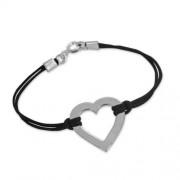 Bracelet en coeur personnalisé en Argent
