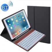 """Läderfodral till iPad Pro 9.7 """", iPad Air, iPad Air 2 - Löstagbart tagentbord LED"""
