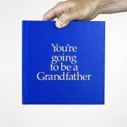 You're Going To Be A Grandfather Gift Book Blue