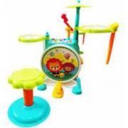 Set tobe de jucarie cu scaunel microfon 5 melodii si 4 sunete diferite