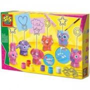 Детски комплект Направи си сам - Поставки за бележки SES, 080939