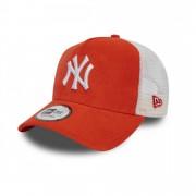 Sapca New Era Micro Cord Trucker New York Yankees Rosu