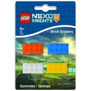 Lego Nexo Knights - Mini-Erasers 4-Pack