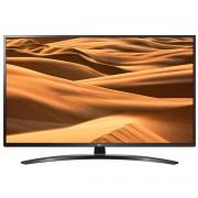 Televizor UHD LG 50UM7450PLA, 127 cm, Smart TV, 4K, Smart ThinQ, Procesor Quad Core, Bluetooth 5.0, Wi-Fi, Sunet stereo, Clasa energetica A, Negru