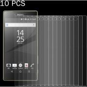 10 PCs Para Sony Xperia Z5 Premium / Z5 Plus 0.26mm 9h Dureza Superficial 2.5D A Prueba De Explosion Tempered Glass Screen Film