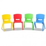 Set of 4 Kids Furniture Play Chairs