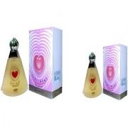 Omsr Sentiment Spray perfume for women combo of two (60+40) 160 ml