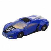 bolsillo-Size AR Car Racing Toy para ninos? Adultos-Azul