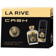 La Rive Cash Men - zestaw, dezodorant, woda toaletowa