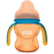 Pur Multi Grasp Drinking Cup 5 oz/150 ml Yellow and Blue