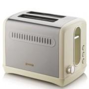 Тостер Gorenje T1100CLI, 6 степени на затопляне, Термостат, Автоматично изхвърляне, 950W, златист