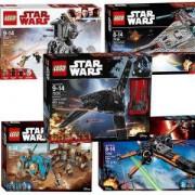 Колекция Лего Стар Уорс - LEGO Star Wars 75156 + LEGO 75177 + LEGO 75148 + LEGO 75102 + LEGO 75186