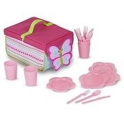 Melissa & Doug Sunny Patch Cutie Pie Butterfly Picnic Set Toy