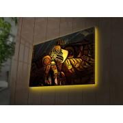 Tablou pe panza iluminat Ledda, 254LED4297, 45 x 70 cm, panza