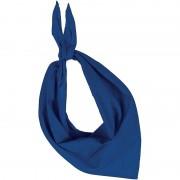 Kariban Bandana/zakdoek blauw voor volwassenen