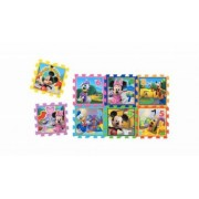 Covor puzzle din spuma Sotron Minnie and Mickey Mouse 8 piese