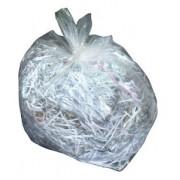 600 x 1100 x 0,023 mm-es (60 x 110 cm-es) (125 l) polietilén zsák környezetbarát, újrahasznosított anyagból