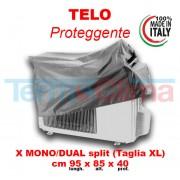 Cappottina Per Climatizzatori Condizionatori Taglia Xl Lungh.95cm.X Alt.85cm. X