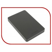 Жесткий диск Toshiba Canvio Alu 1Tb Black HDTH310EK3AB