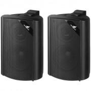Svart liten högtalare för bakgrundsmusik - Monacor EUL-30