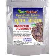 Sugar Badam Diabetes Almonds Sky Fruit Kingfruit Miracle Fruit for Diabetes Weight Loss - 150 gm