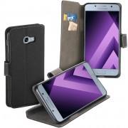 MP Case zwart book case style voor Samsung Galaxy A5 2017 - 2017 Duos wallet case