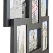 VonHaus okvir za fotografije za 12 slika 10x15cm crne boje