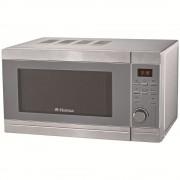 Cuptor cu microunde Hansa AMG20E70GIVH, 700 W, Grill, Timer electronic, 9 programe, Argintiu