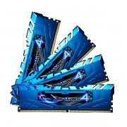 G.SKILL DDR4-2400 16GB Quad Channel [Ripjaws4] F4-2400C15Q-16GRB