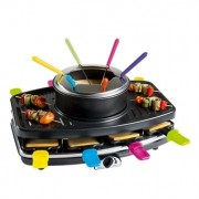 Appareil 3 en 1 : Raclette - Grill - Fondue DOC107 Livoo