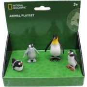 Set 4 figurine National Geographic cu pinguini