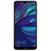 "Telefon Mobil Huawei Y7 2019, Procesor Qualcomm 450, Octa-Core, IPS Capacitive touchscreen 6.26"", 3GB RAM, 32GB Flash, Camera 13+2MP, 4G, Wi-Fi, Dual SIM, Android (Negru) + Cartela SIM Orange PrePay, 6 euro credit, 6 GB internet 4G, 2,000 minute nationale"