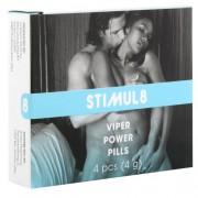 "Секс стимулант ""STIMUL 8 VIPER POWER"" 4 таблетки"