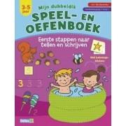 Deltas Speel- en oefenboek Eerste stappen naar tellen en schrijven (3-5 Jaar)