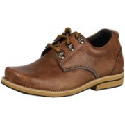 Ramraj Leather Desert Boot Boots For Men(Brown)